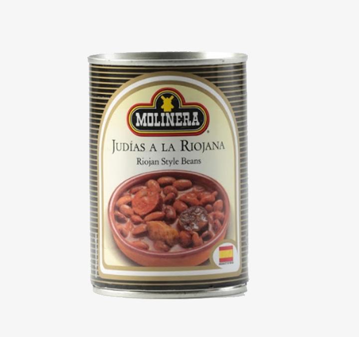 Judias a la Riojana (Riojan style beans) - Size Availability: 415g