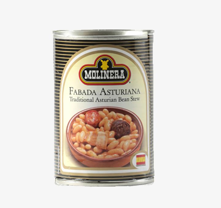 Fabada Asturiana (Traditional Asturian bean stew) - Size Availability: 415g