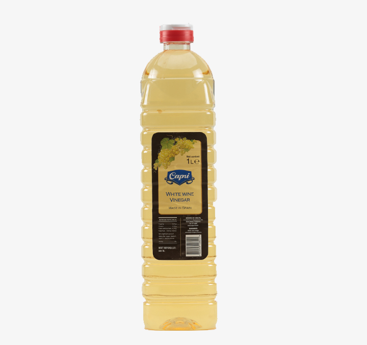 White Wine Vinegar - Size Availability: 500mL, 1L