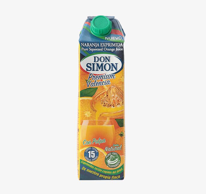 Orange Juice w/ Pulp - Size Availability: 1L