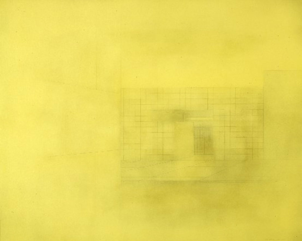 UNTITLED  1975-1976 140x170 cm  private collection