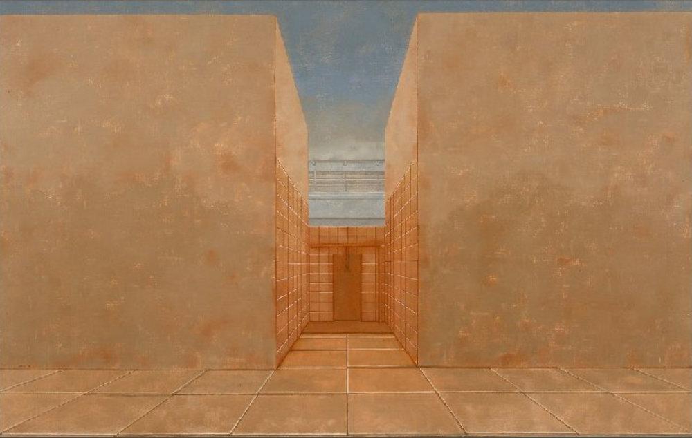 UNTITLED  1974 100x160 cm  public collection
