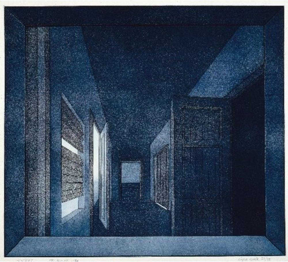 XXXIV   1974  48,5x54 cm