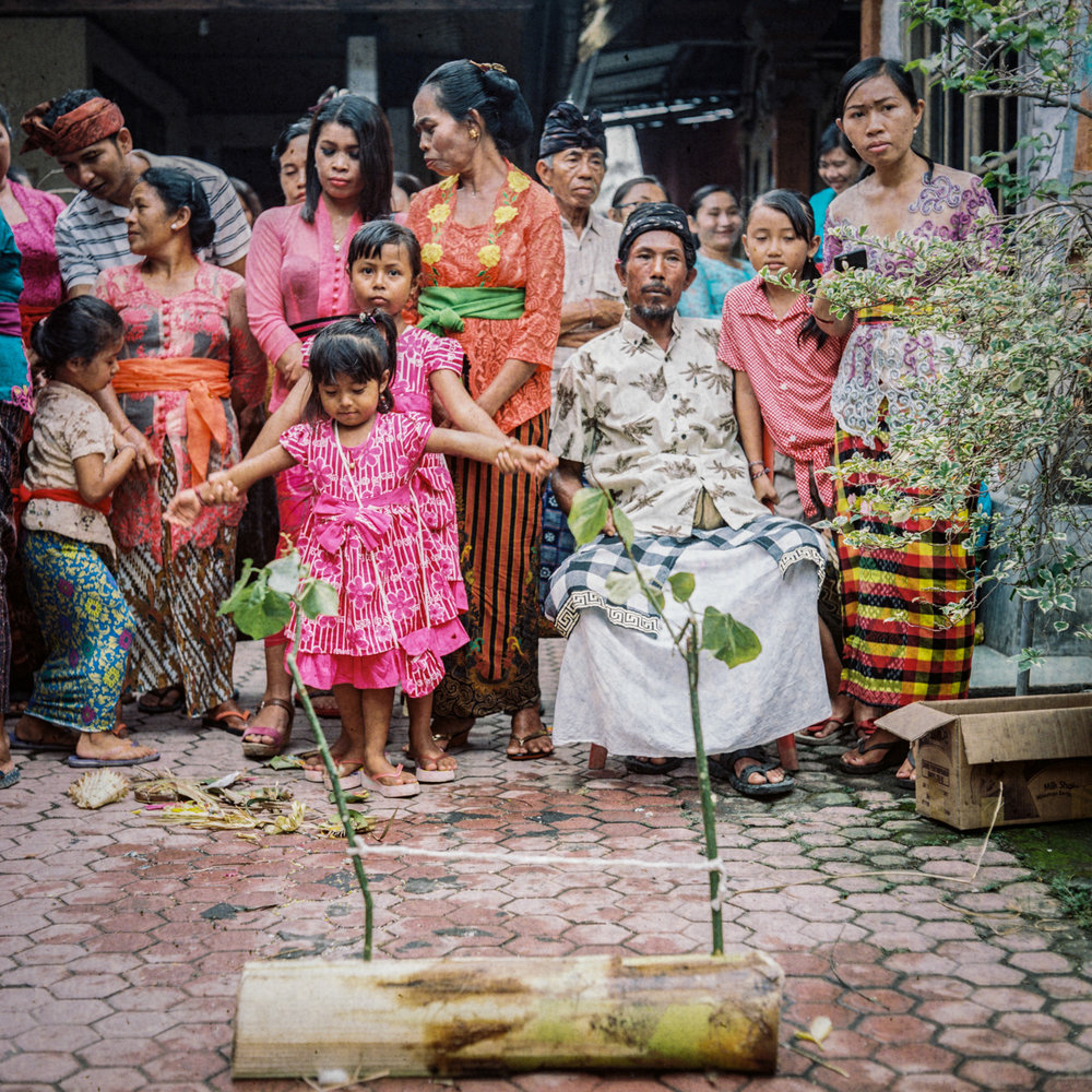 my neighbour Kayun Mayek wedding ceremony at Tunjuk Village, Bali, Indonesia.