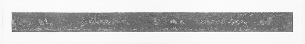 "Prairer Rattler   image area   6"" x 96"""