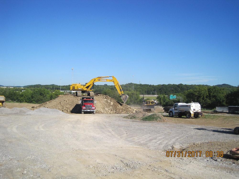 Hauling Excavated Material Offsite