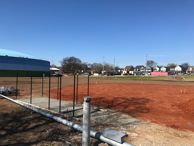 New Softball Field