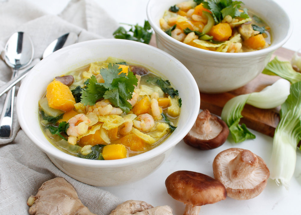 paleo Thai curry soup