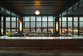 Sixth-Floor Bar at the Wythe Hotel