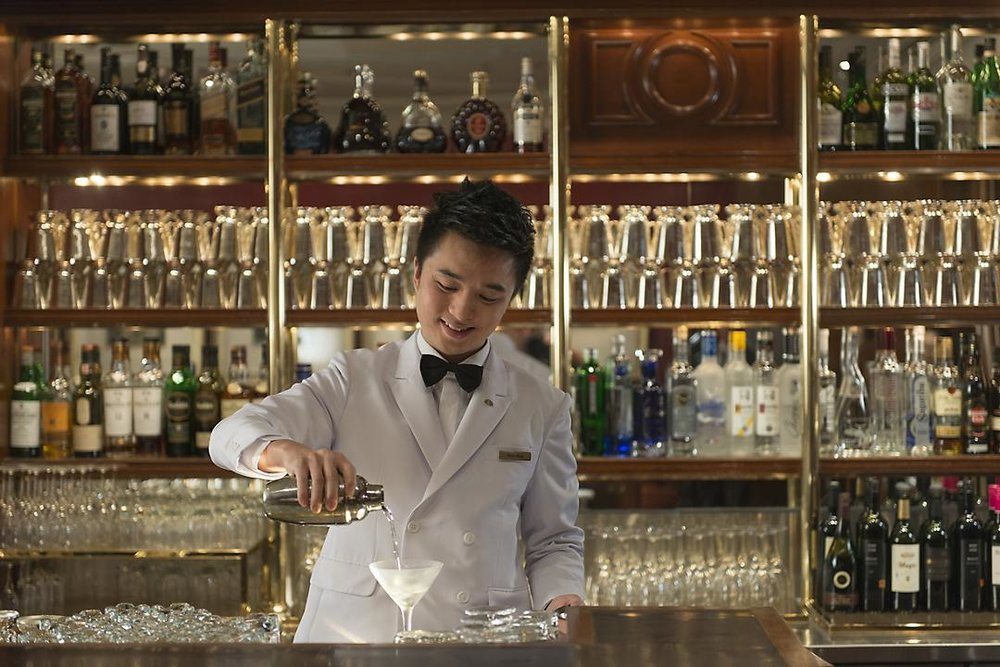 Captain's Bar, Mandarin Oriental