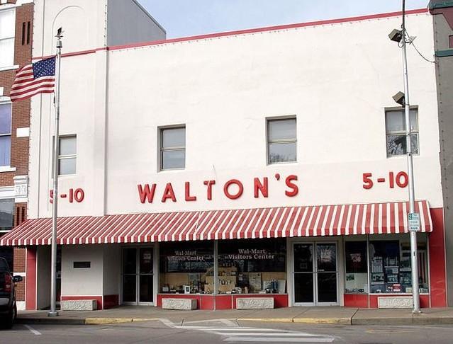 The original Walton's store