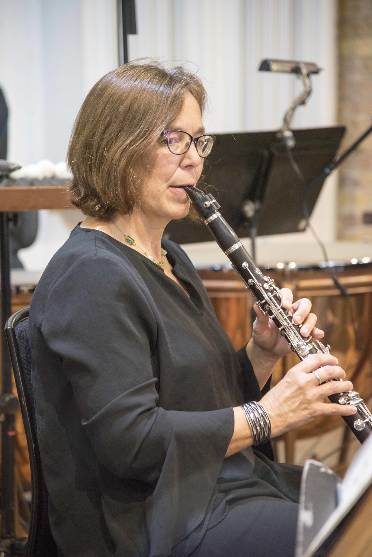 Clarinetist Fiona Cross by Katie Vandyck