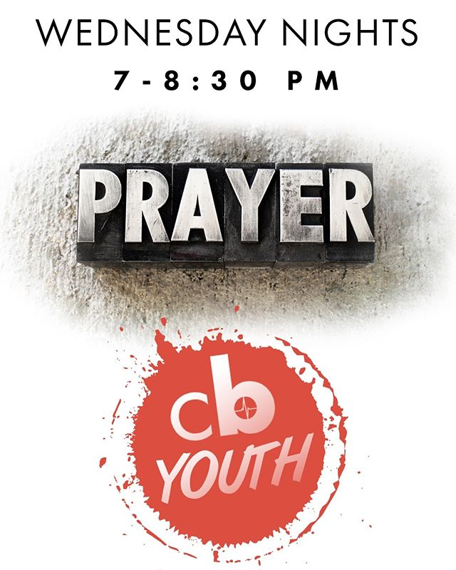 Tonight we have our Midweek Services! CityBeat Youth is for students from ages 11-18. It is an awesome time of connecting with other young people in a safe and fun environment! Upstairs, we have a prayer service where we intercede for needs at our church, in our city, in our nation, and across the world. Come out and join us from 7-8:30 PM!