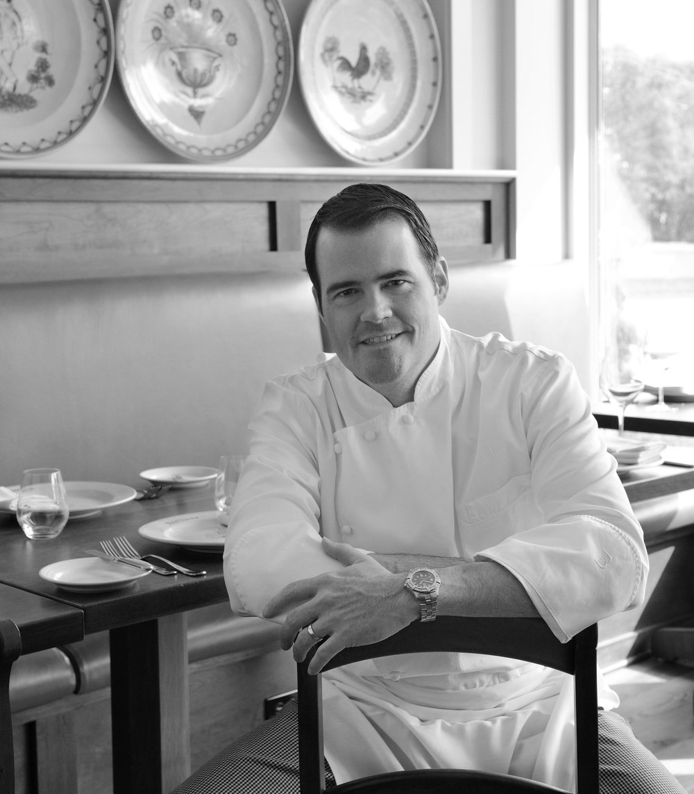 Chef Dan Magill Arethusa al tavolo Bantam Connecticut