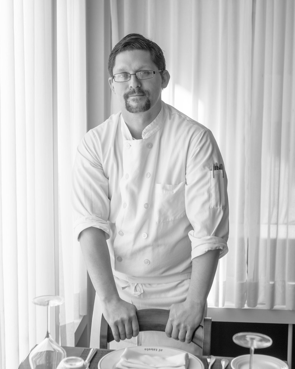 Pastry Chef James Arena Arethusa al tavolo