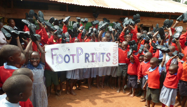 Asante sana, FootPrints! The kids are so excited about their new shoes!