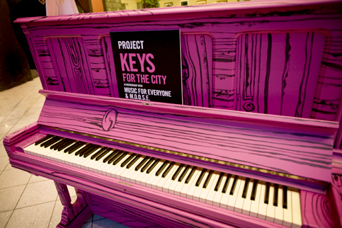 Music For Everyone - Keys for the City Project