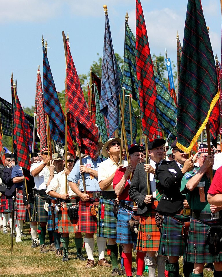 Bagpipes, Tree Tossing and Traditions 2.JPG