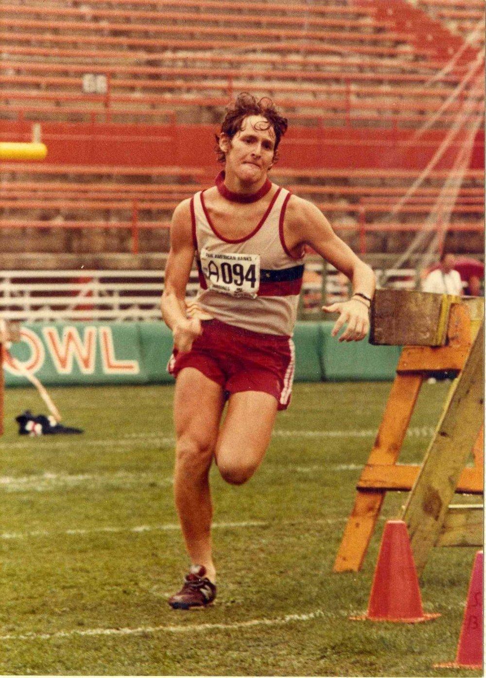 First Marathon, Orange Bowl 1983, 17 years old