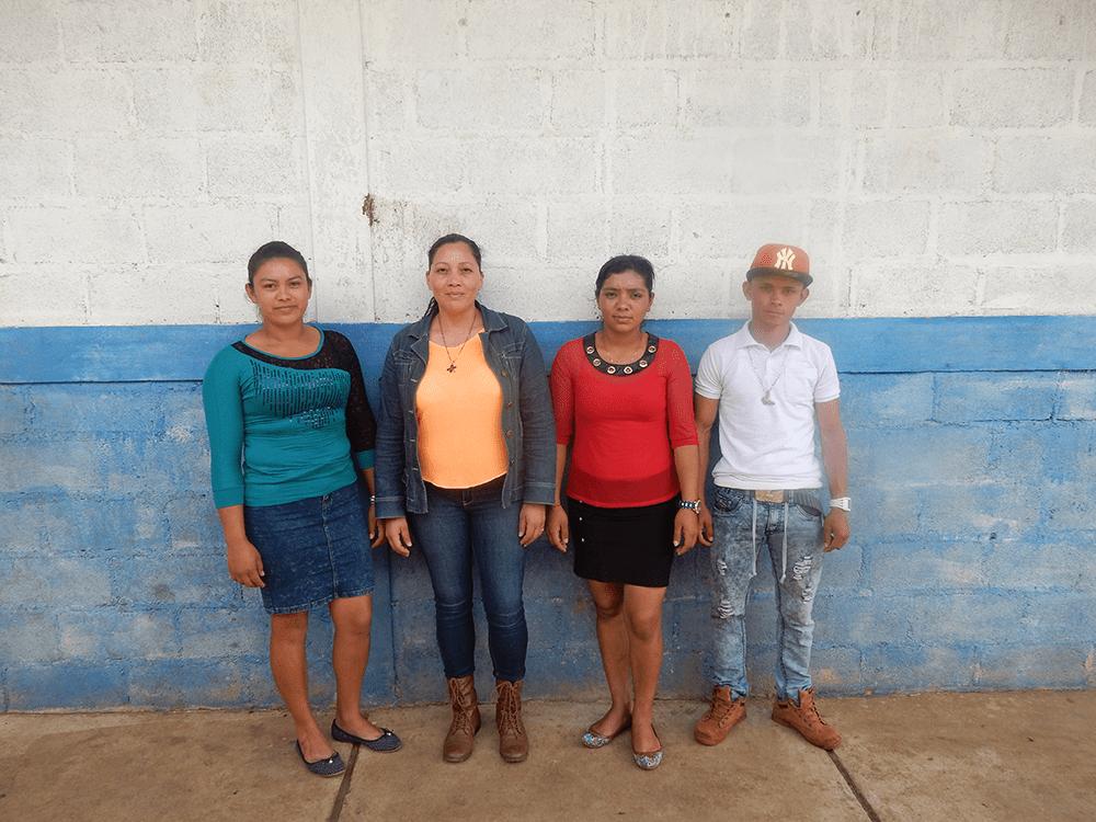 Community Improvement Council heading up the work in El Quebracho, Miraflor in Nicaragua.
