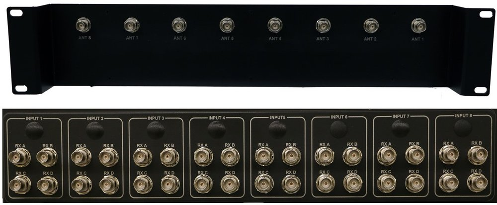 4x8 Receiver/BDC splitter shelf -