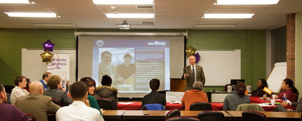 Dr. Allen Roberts,  SUNY Ulster