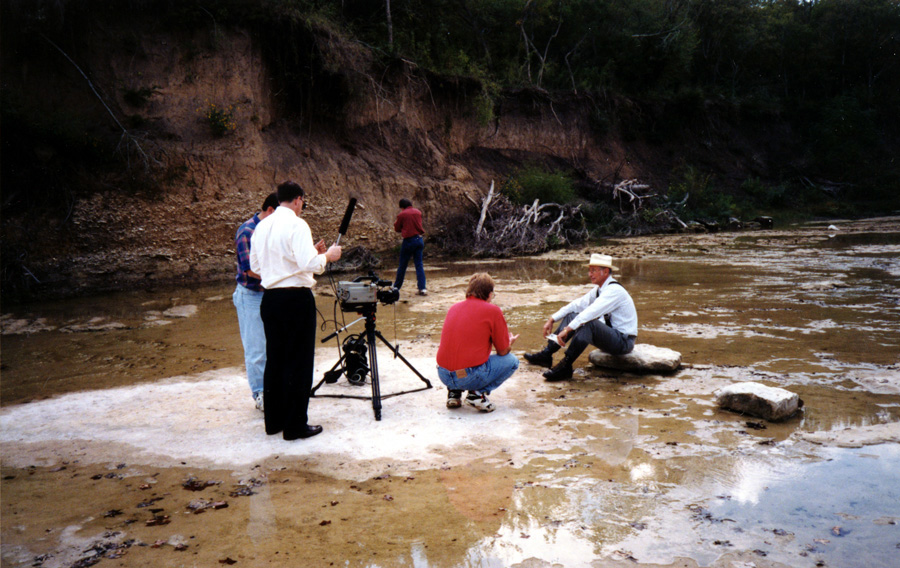 Filming for Dow Corning in Texas