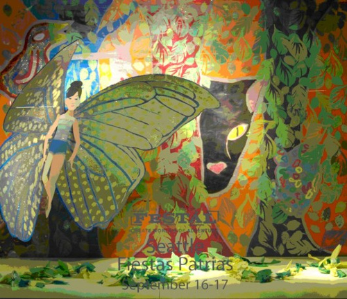 FESTAL FOLK TALES | 2006 - Macy's Window Displays celebrating FestalPartner: Macy'sTeaching Artists: Liza vonRosenstiel, Romson Bustillo, Sandy Lew-Hailer and Oscar Mendoza.