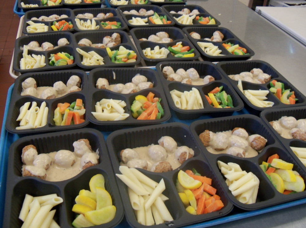 Meals prepped and ready for delivery!