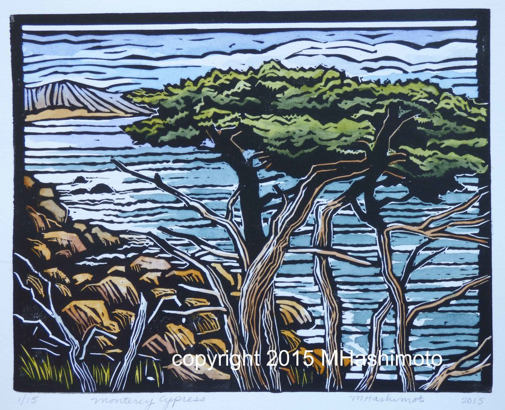 Monterey Cypress at Pt. Lobos - $115