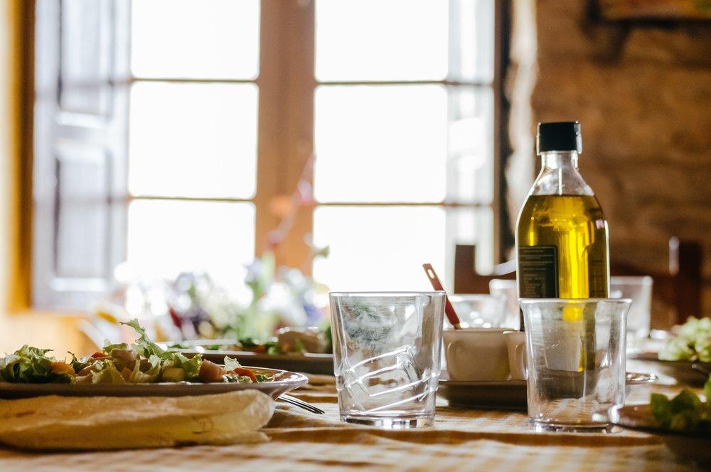 OLIVE OIL & VINEGAR - Sample gourmet olive oils and vinegars at our oil & vinegar tasting bar!