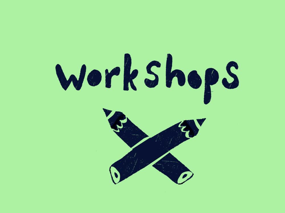 inspiration - Workshops i kreativt skrivande på för både barn- och vuxna. Några exempel på tidigare kurser:Leksands folkhögskola, en veckas sommarkurs under fem års tid, Unga Station/Stadsmissionen, en veckas skrivarkollo för tonårstjejer.