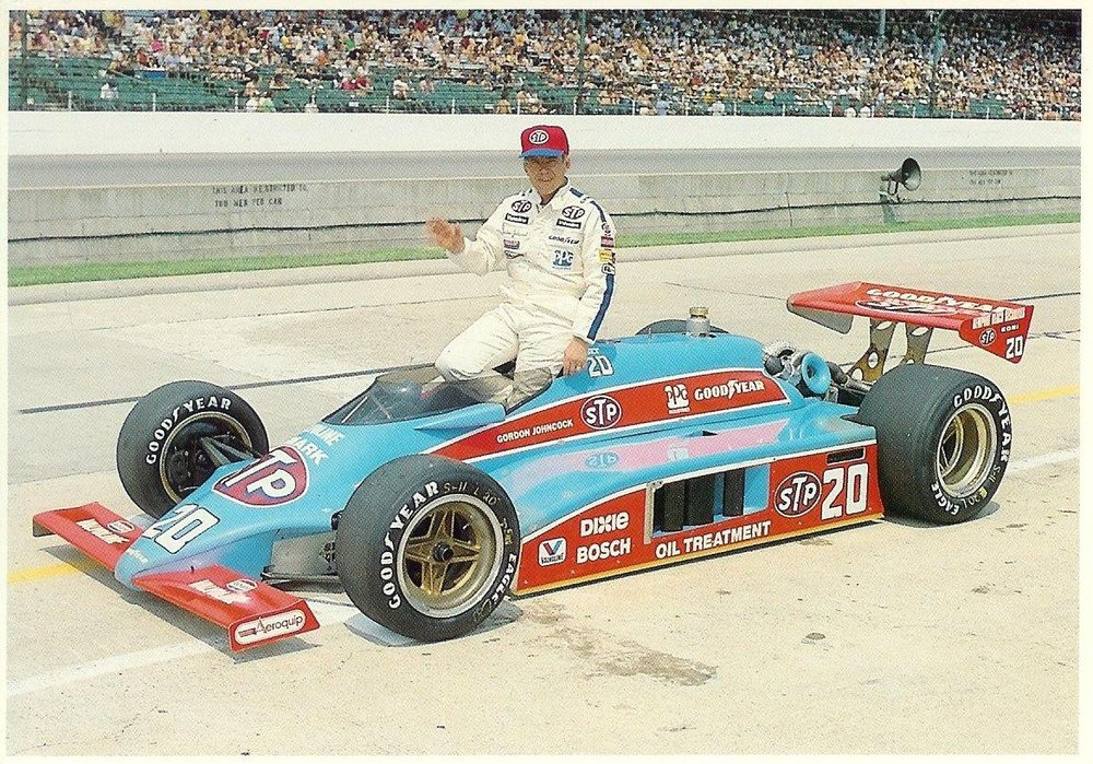 - 1982 Indianapolis 500 with Gordon Johncock