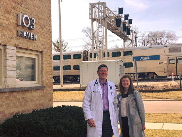 Looking for a new Primary Care doctor but are worried you'll be just another number? Well stop that 🚂 train🚆 of thought in its tracks! At Baubly Medical, we treat all our patients like family because we ARE a family! We are a father-daughter duo specializing in Internal Medicine.  Our office is located in Elmhurst, IL just a block down from the train station. Visit our website or call us at 630-595-9988 for more information.