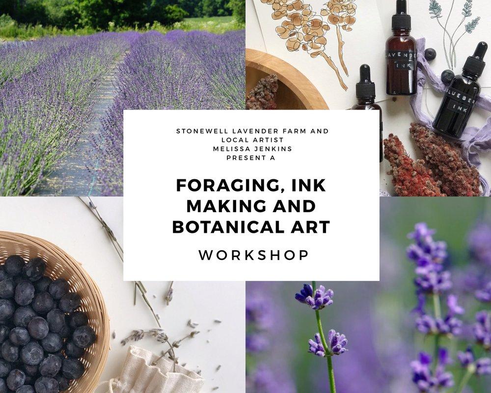 Ink Making, Foraging and Botanical Art Workshop — Stonewell Farm