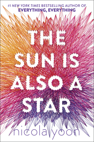 The Sun Is Also A Star - Author: Nicola YoonDescription: The Sun Is Also A Star is the story of an undocumented Jamaican girl who is trying to stop her family from being deported and a Korean-American boy trying to figure out his future. The story is told in alternating perspectives, almost all of which happen over the course of one day.Includes: #ownvoices #africanamerican #black #femaleprotagonist #maleprotagonist #interraciallove #immigration #gentrification #undocumented #jamaican #korean #asianamerican #contemporaryCitation: Yoon, N. (2016). The Sun Is Also A Star. Delacorte Press.Image retrieved from: Goodreads.