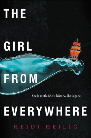 The Girl From Everywhere - Author: Heidi HeiligDescription: The Girl From Everywhere is the magical story of a biracial Chinese/Hawaiian girl who lives on a ship that can travel through space and time.Includes: #ownvoices #asianamerican #biracial #alternativehistory #magic #fantasy #bipolar #mentalhealth #timetravel #femaleprotagonistCitation: Heilig, H. (2016). The Girl From Everywhere. Greenwillow Books.Image retrieved from: Goodreads.