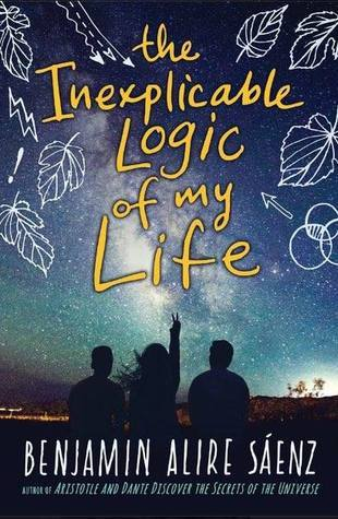 The Inexplicable Logic of My Life - Author: Benjamin Alire SáenzDescription: The Inexplicable Logic of My Life is a novel about a Mexican American teen who has grown up with his adoptive gay father in a Mexican American family. This story follows him as he and his best friend dig into their own histories and deal with grief and loss.Includes: #ownvoices #latinx #mexican #LGBTQIA #gay #contemporary #maleprotagonistCitation: Sáenz, B. A. (2017). The Inexplicable Logic of My Life. Clarion Books.Image retrieved from: Goodreads.