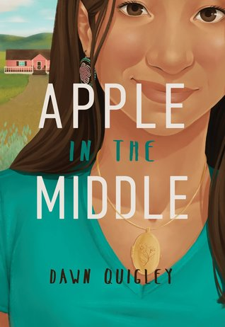 Apple In The Middle - Author: Dawn QuigleyDescription: Apple In The Middle is a contemporary novel about a biracial Native American girl who turns her back on her heritage when someone calls her a racial slur. However, she reluctantly agrees to spend the summer with her Native American relatives on the Turtle Mountain Indian Reservation in northern North Dakota. She quickly learns that a lot of the things that she thinks about her own community are actually stereotypes rather than truth.Includes: #ownvoices #nativeamerican #indigenouse #biracial #femaleprotagonist #contemporaryCitation: Quigley, D. (2018). Apple In The Middle. North Dakota State University Press.Image retrieved from: Goodreads.
