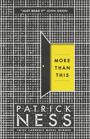 More Than This - Author: Patrick NessDescription: More Than This is the story of a gay teen who dies and wakes up in an in-between world.Includes: #ownvoices #gay #LGBTQIA #maleprotagonist #sciencefictionCitation: Ness, P. (2014). More Than This. Walker Books Ltd.Image retrieved from: Goodreads.