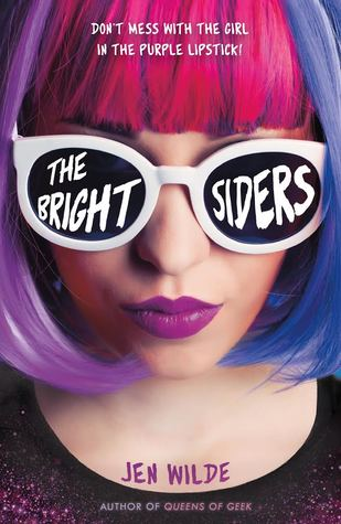 The Brightsiders - Author: Jen WildeDescription: The Brightsiders is a contemporary novel with multiple bisexual characters. It includes more than one bisexual female character, one pansexual female character, and a bisexual male character. The story follows a teen rockstar after a night of partying gone wrong.Includes: #bisexual #pansexual #LGBTQIA #femaleprotagonist #contemporaryCitation: Wilde, J. (2018). The Brightsiders. Swoon Reads.Image retrieved from: Goodreads.