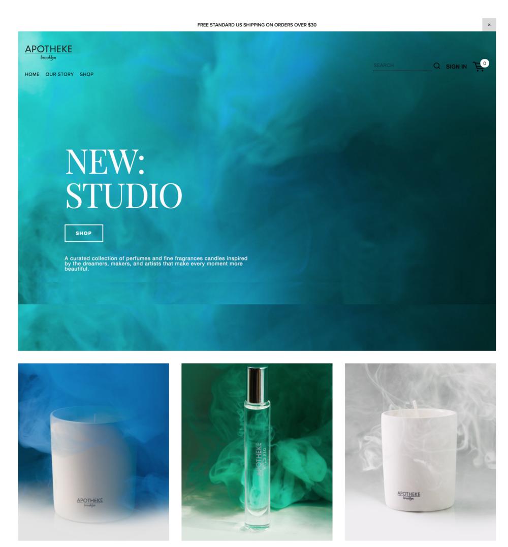 Apothekeco Online Store Website