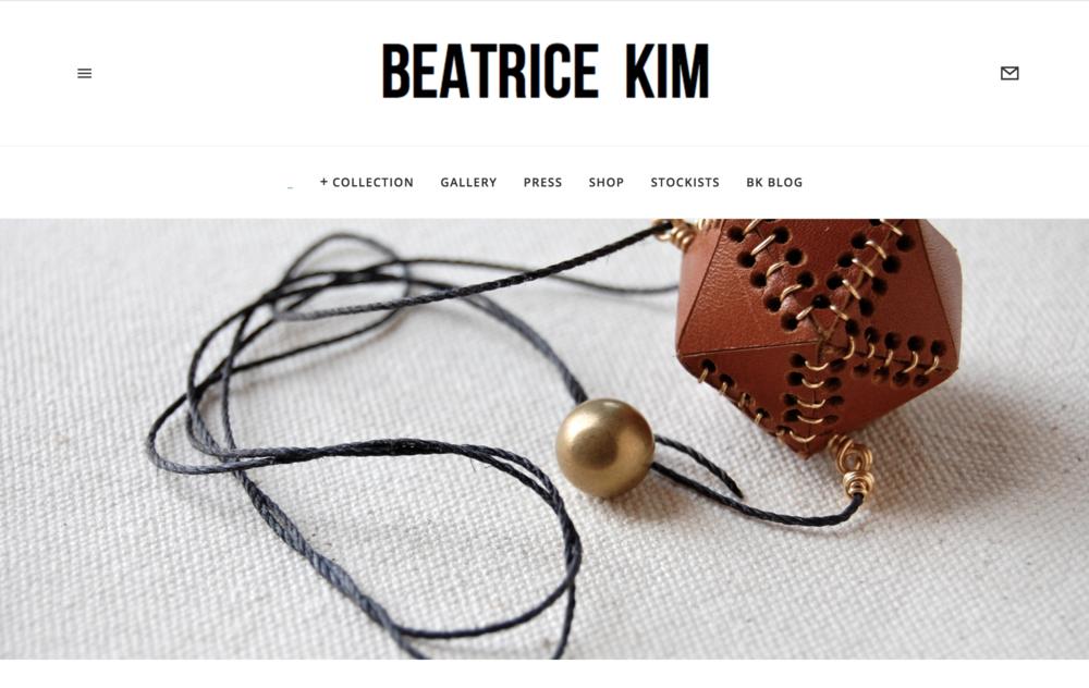 Beatrice Kim Website