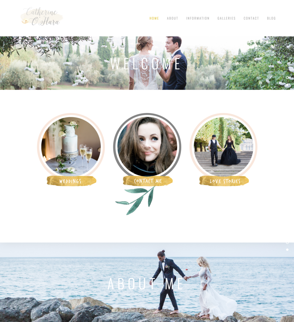 Catherine O'hara Photography Website
