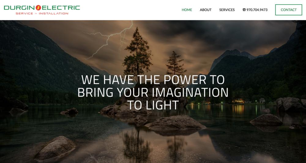 Durgin Electric Website