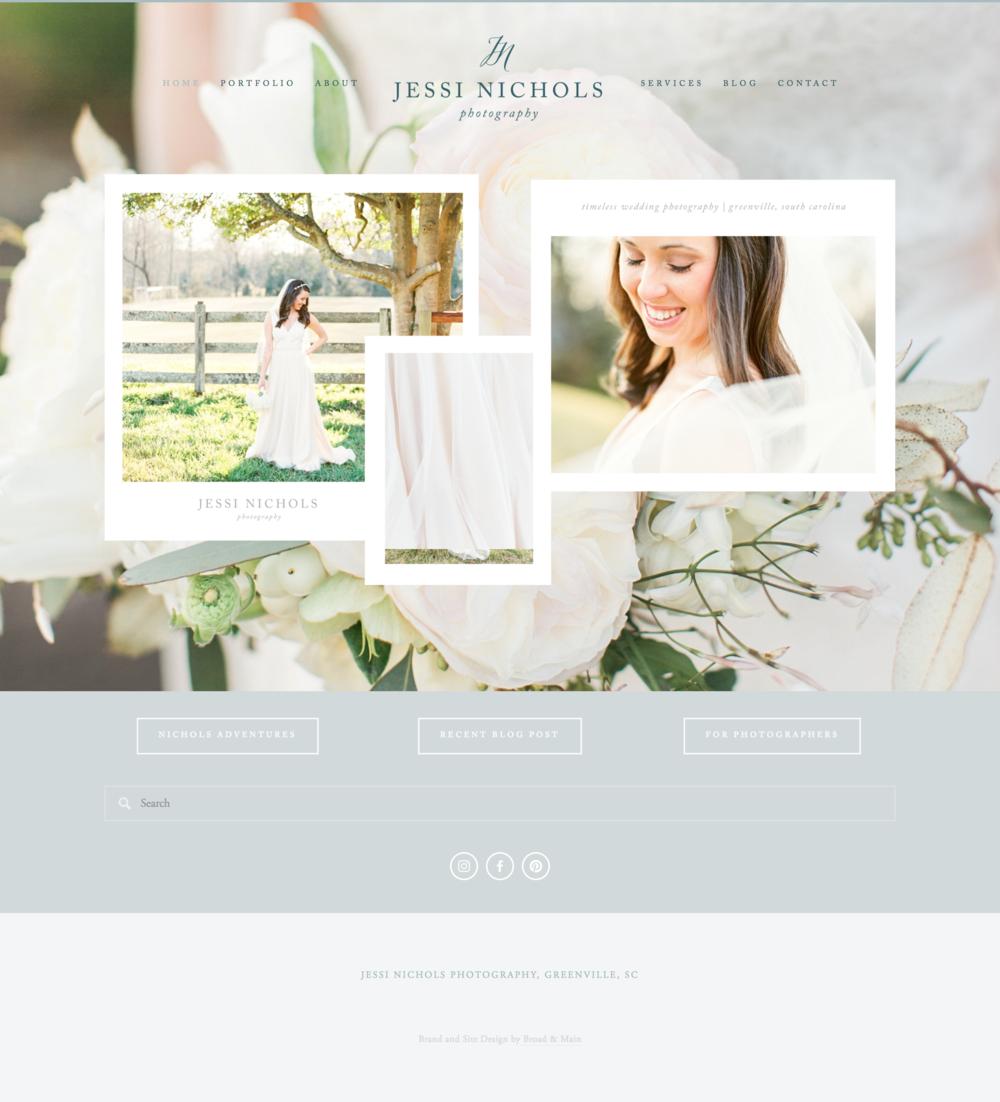 Jessi Nichols Photography Website