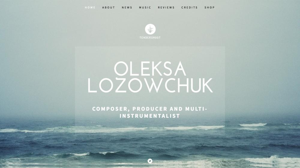 Oleska Lozowchuk Musician Website