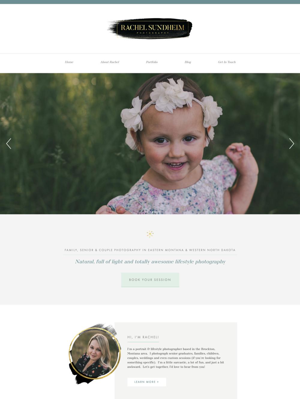 Rachel Sundheim Photography Website