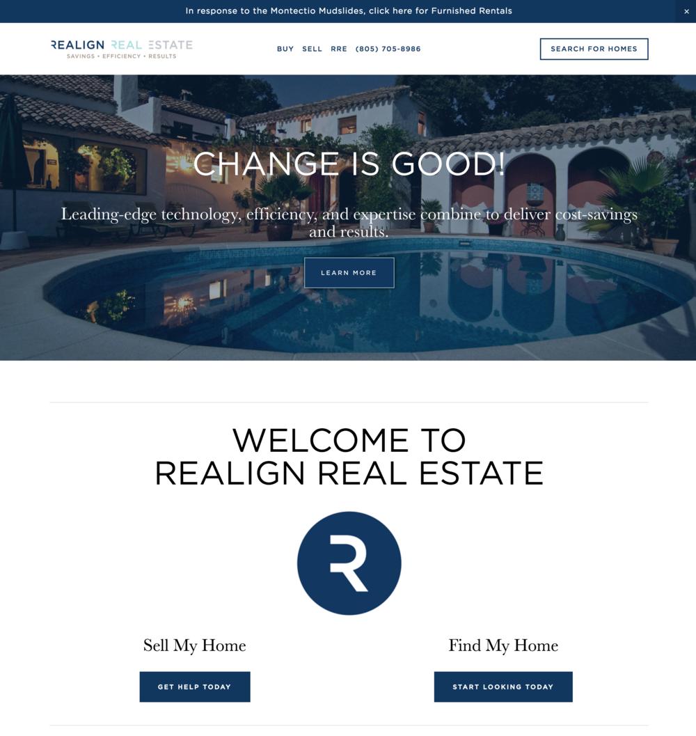Realign Real Estate Website