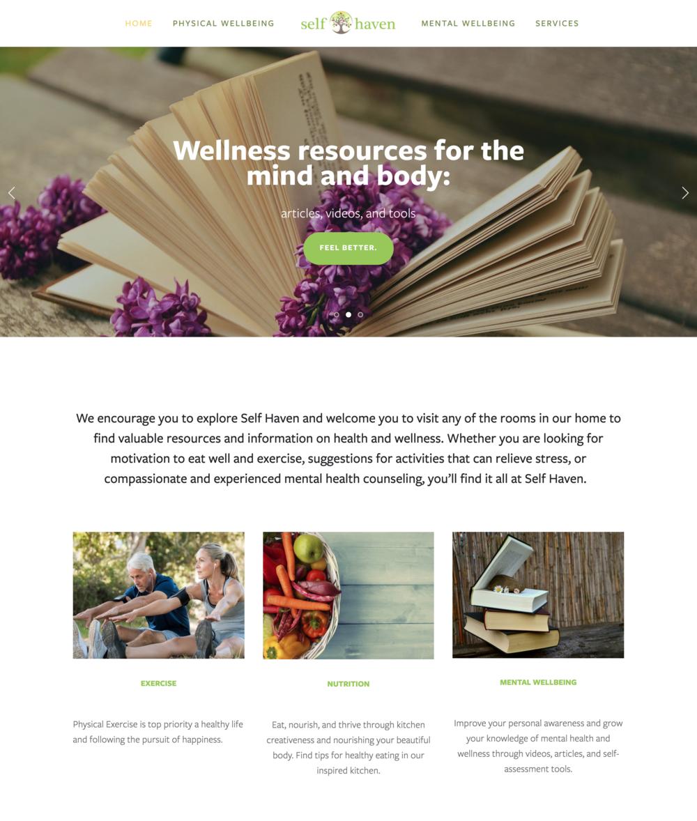 Self Haven Lifestyle Website